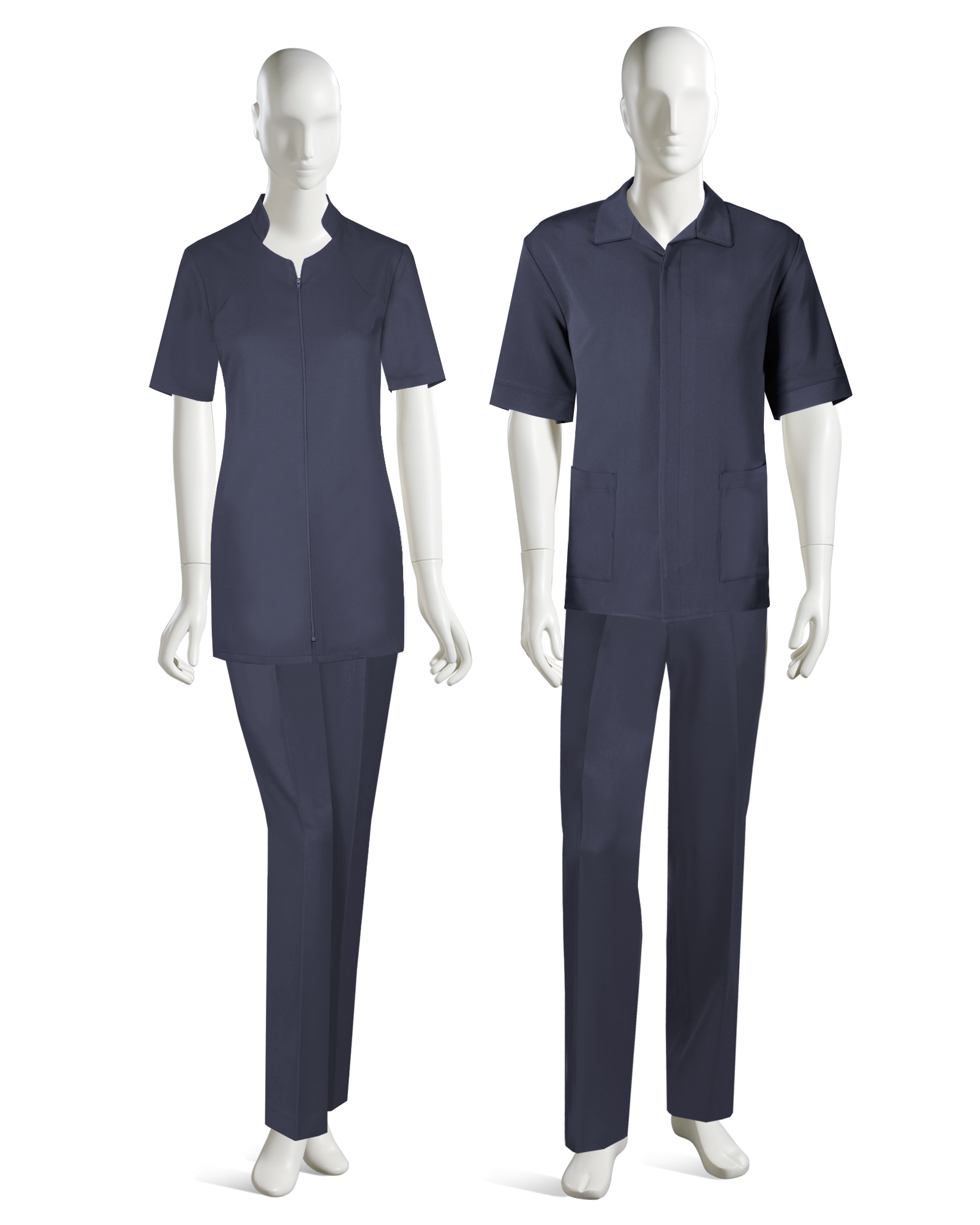 Sp167 for Spa receptionist uniform design